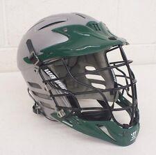 Warrior W1004 Lacrosse Helmet Gray & Green Size Xs w/Chin Strap Fast Shipping