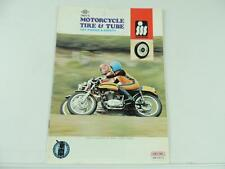 1970's Tire And Tube Price List Book Manual Ducati Road Race Motocross L2214