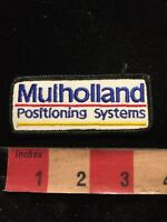 Vintage (circa 1980s) MULHOLLAND POSITIONING SYSTEMS Advertising Patch 85I5
