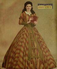 CIVIL WAR VICTORIAN DAY TEA DRESS COSTUME SEWING PATTERN misses 16-18-20-22