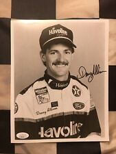 Davey Allison Autographed 8x10 Picture With JSA Certification