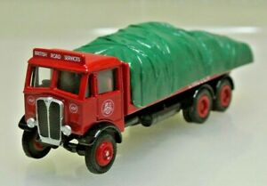 EFE 10503DL AEC Mammoth Major 3 Axle Flat Bed Lorry British Road Services 1:76
