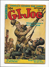 """G.I. JOE #7 [1953 GD-VG] """"THE TWO-LEAF CLOVER""""   AWESOME MEDIC COVER!"""