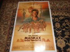 Mad Max Beyond Thunderdome Original 27 x 41 Movie Poster