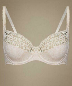 Marks & Spencer vintage cotton rich non padded full cup bra 38B