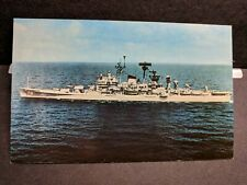 USS CANBERRA CA-70 Naval Cover unused post card