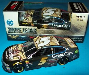 Kasey Kahne 2017 Great Clips Justice League #5 Chevy SS 1/64 NASCAR Diecast