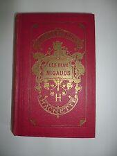 LES DEUX NIGAUDS Comtesse de Ségur Bibliothèque Rose Illustrée