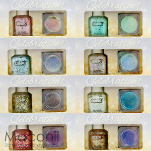 Color Club Celebration Mini Set Collection - Creme Glitter Shimmer Nail Polish