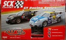 SCX Compact GT Racing Series 1/43 Scale Slot Car Racing Set