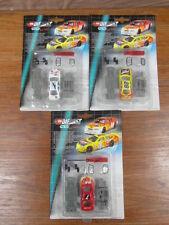 3 x DICKIE SIMBA RACE FORCE NASCAR US race car en KIT collector (g. MAJORETTE)