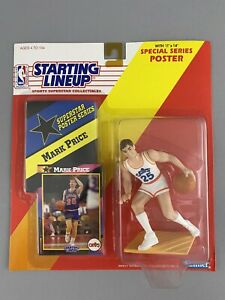 Kenner Starting Lineup NBA 1992 Mark Price MOC, New. Cleveland Cavaliers Cavs