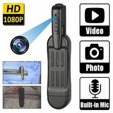 HD 1080P Mini Pocket Pen Camera Hidden Portable Body Video Recorder DVR Rec Cam