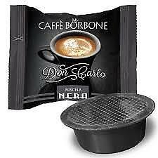 CAPSULE caffe BORBONE DON CARLO miscela NERA @a modo mio 100 200 300 400 500 600