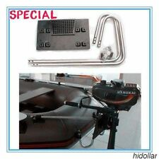 STAINLESS ADJUSTABLE OUTBOARD MOTOR MOUNT KIT FOR INTEX INFLATABLE BOAT