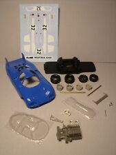 1/43  MATRA  640  CHOULET  TEST  1969  VROOM  KIT PEINT  NO  SPARK  JPS  STARTER