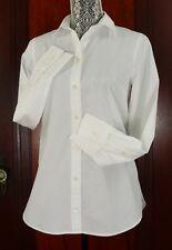 NEW Thomas Mason for J. CREW Women's WHITE COTTON BOY SHIRT SIZE 14 Retail $148