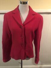 Lafayette 148 New York Pink Wool Blazer Jacket Women's Size 6