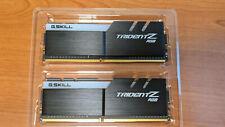 G.SKILL TridentZ RGB 16GB (2 x 8GB) 288-Pin Desktop DDR4 3000 SDRAM