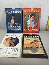 1958-1961 Playboy Playmate Calendars With Sleeves