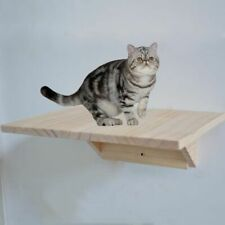 Wall Mounted Cat Climbing Frame Tree Solid Wood Jumping Platform DIY Furniture