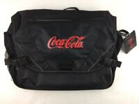 Coca-Cola Laptop Shoulder Bag Travel Case Airport Friendly Black Buckle 18x14x5