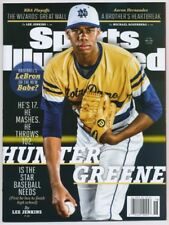 Hunter Greene First Sports Illustrated Cover Reds Mustangs Dragons No Label
