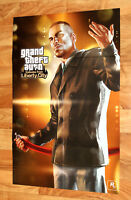 Grand Theft Auto Episodes from Liberty City Rare Poster PS3 Xbox 360 53x80cm
