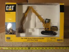 Norscot i/50 diecast model CAT Caterpillar 345B Series II Excavator, Crane.