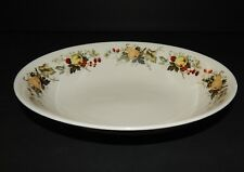Royal Doulton Miramont Oval Vegetable Serving Bow TC1022 Fruit Pattern England