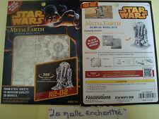 Metal Earth 3D Metl Kit FIGURINE3 D Kit Metal to Mount R2D2 Star Wars New