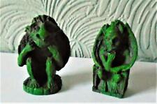 dolls house mini resin GARGOYLES set of 2 new #A