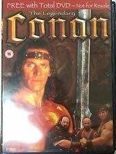 THE LEGENDARY CONAN ~ Azione Epica UK DVD