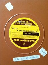 "CRM ""THE CELL : A FUNCTIONING STRUCTURE II"" Part 2 Two 16mm Reel Film E-Lo-Media"