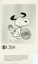 Snoopy Dancing It'S The Easter Beagle Charlie Brown Peanuts 1986 Cbs Tv Photo