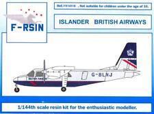 F-RSIN Models 1/144 BRITTEN NORMAN BN-2 ISLANDER British Airways