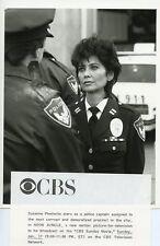 SUZANNE PLESHETTE PORTRAIT THE NEON JUNGLE ORIGINAL 1987 CBS TV PHOTO