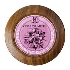 Geo F. Trumper Violet Shaving Soap in Wooden Bowl  - NIB