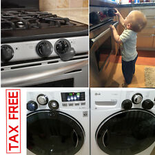 Safety Stove Knob Covers Universal Gas Electric Oven Baby Kids 5 Count Kitchen