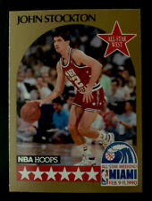 1990 Hoops #25 John Stockton  All-Star Utah Jazz  HOF