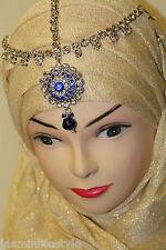 Strass Hijab Matha Patti Neu Tikka Braut Ball Kostüm Kopf Schmuck