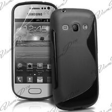 ACCESSOIRES HOUSSE ETUI COQUE SILICONE GEL S NOIR Samsung Galaxy Ace II X S7560M