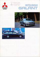 Mitsubishi - Galant   - Prospekt  - Deutsch - 09/2001 -  nl-Versandhandel
