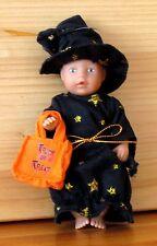Mini Baby Born Halloween-Püppchen mit Tasche wie neu RAR 1