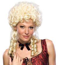 Blonde Blond Marie Antoinette Colonial Costume Wig