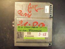 88 89 90 EAGLE PREMIER 3.0L V6 ECU/ECM #8933004686 *see item description*