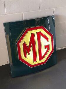 MG DEALER SIGN from Genuine Original Garage Forecourt (ex Dealership Sign)