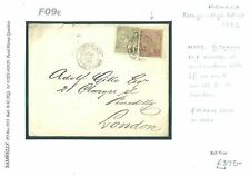 Used Cover Monacan Stamps