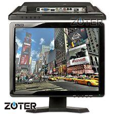 """ZOTER 15"""" Inch HDMI/BNC/AV/VGA 4:3 /16:9 TFT LCD Monitor Computer Display Screen"""
