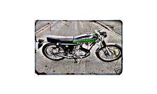 Benelli 250 2C Motorbike A4 photo Retro Bike